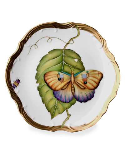 Anna Weatherley Exotic Butterflies Bread & Butter Plate