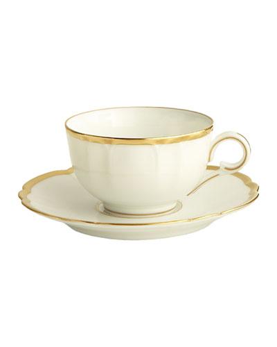 Haviland & Parlon Colette Gold Cup and Saucer