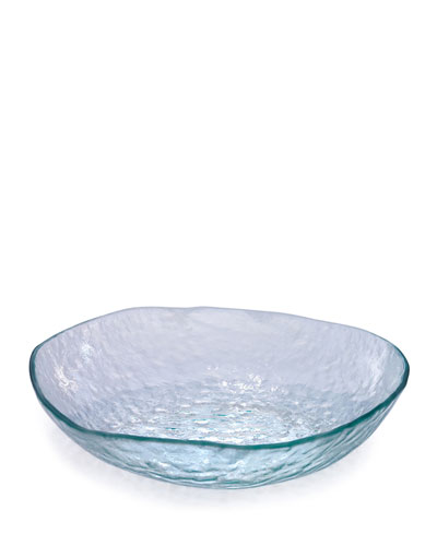 Annieglass Salt Textured Extra-Large Serving Bowl