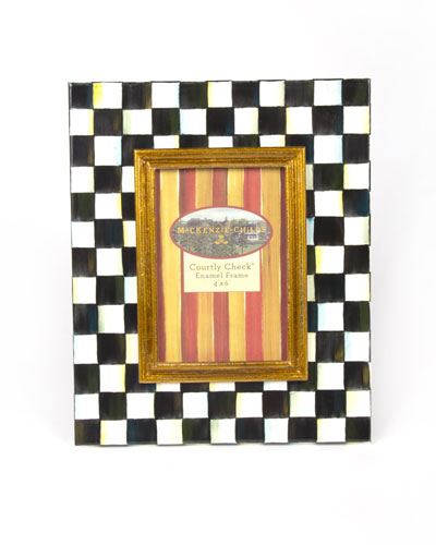 Small Courtly Check Photo Frame
