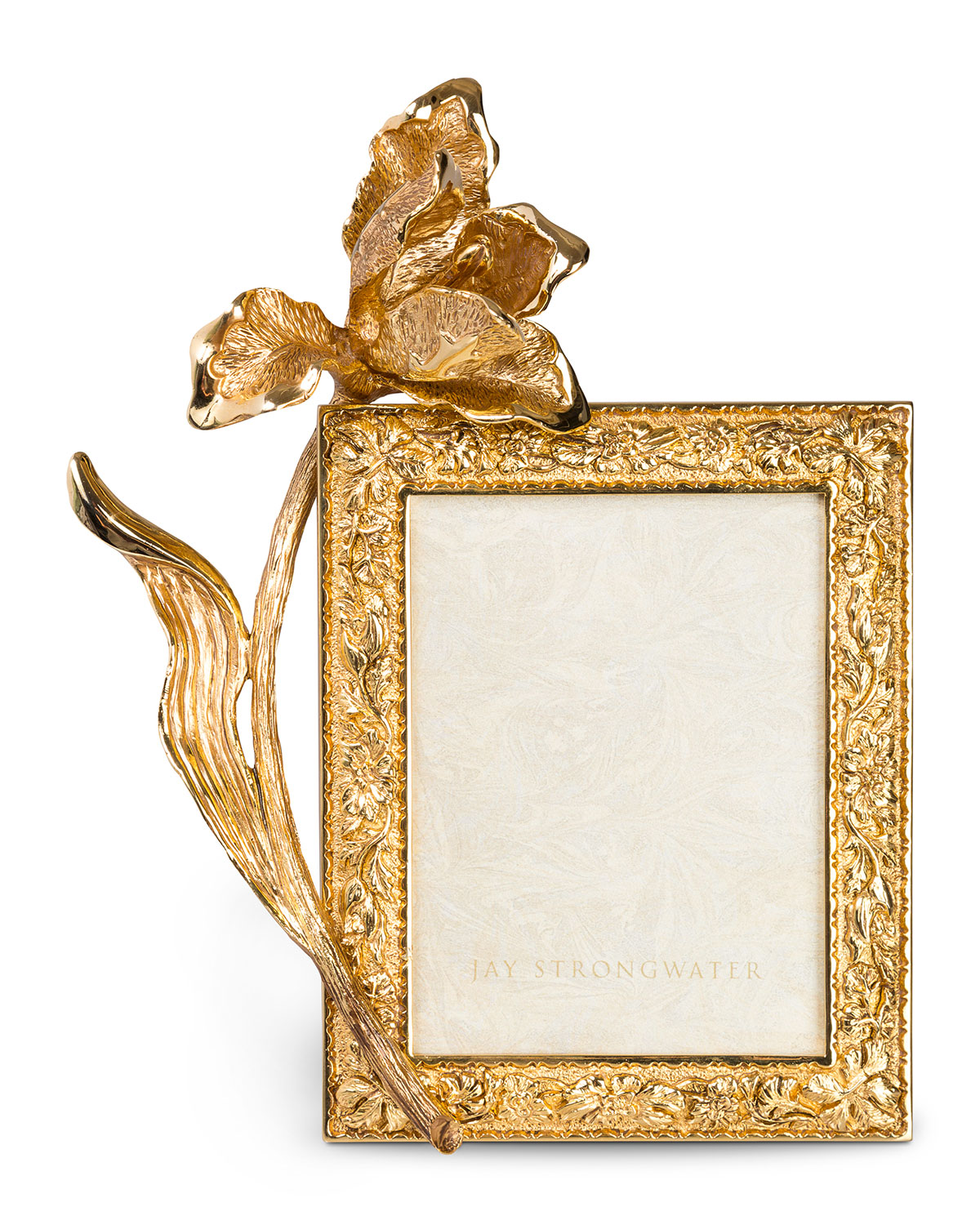 """Jay Strongwater Picture frames TULIP 3"""" X 4"""" PICTURE FRAME"""