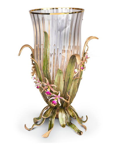 Large Orchid Vase