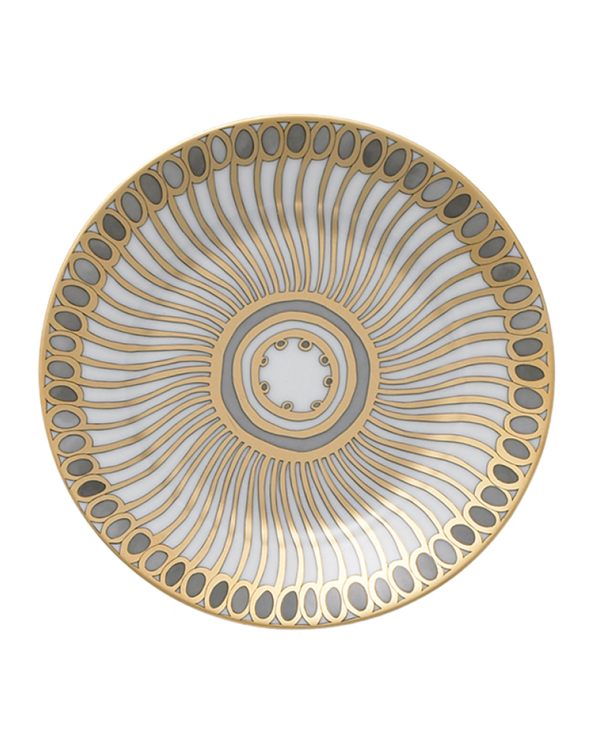 Haviland & Parlon SYRACUSE TAUPE BREAD & BUTTER PLATE