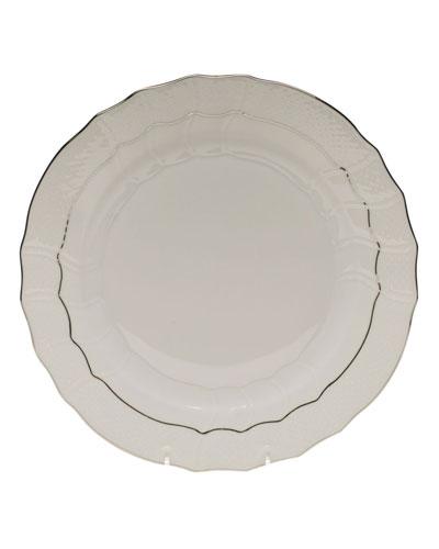 Herend Platinum Edge Dinner Plate
