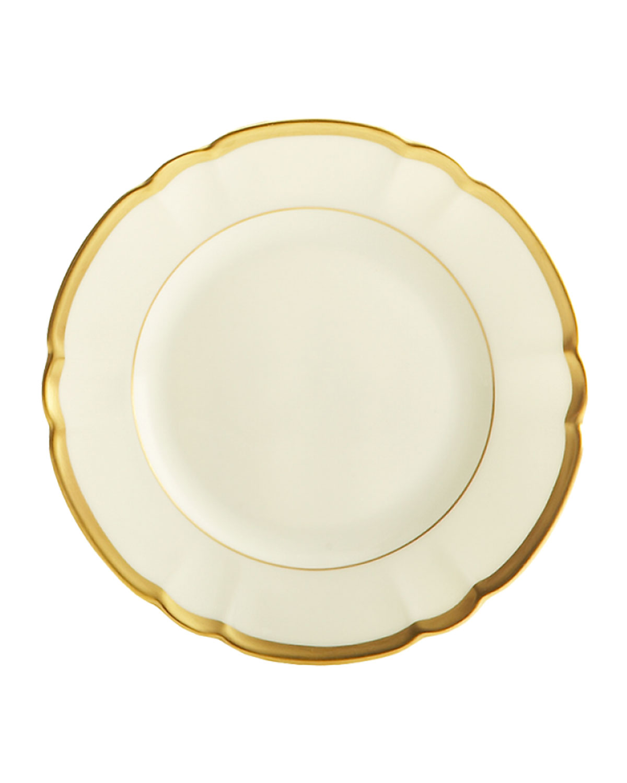 Haviland & Parlon Dinnerwares COLETTE GOLD BREAD & BUTTER PLATE