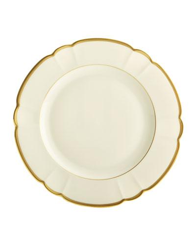 Haviland & Parlon Colette Gold Dinner Plate