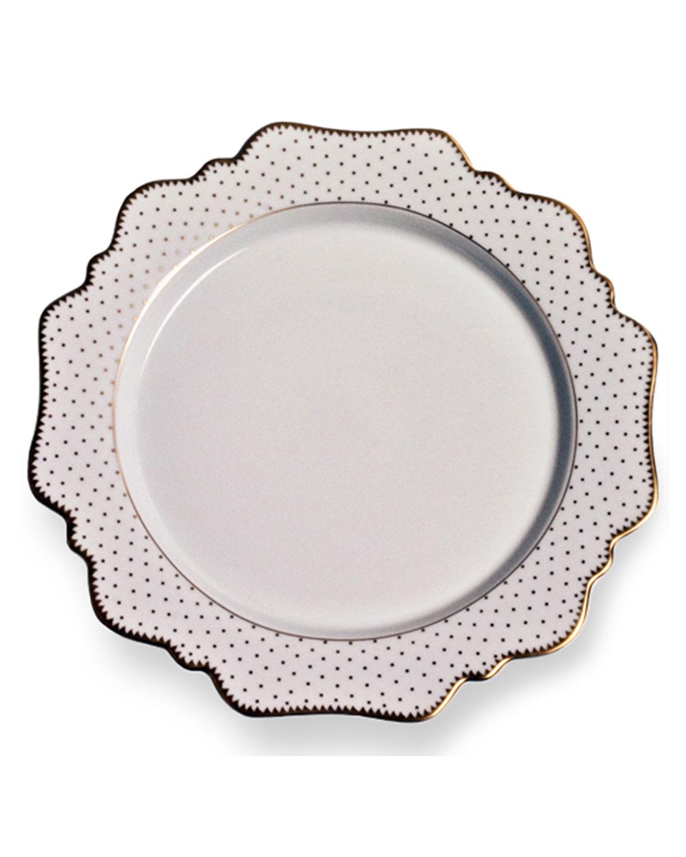 Anna Weatherley Dinnerwares SIMPLY ANNA ANTIQUE POLKA SALAD PLATE