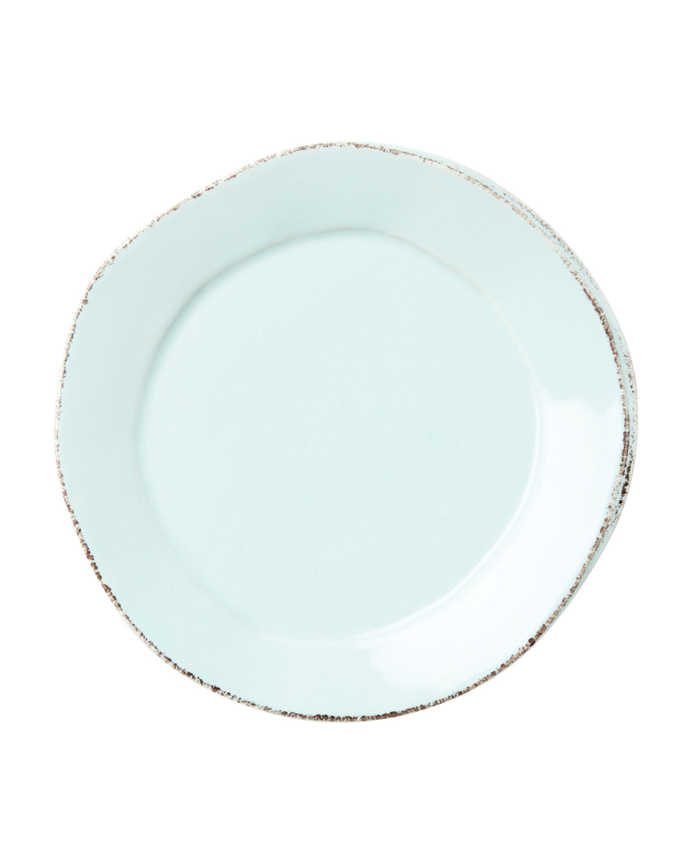 Vietri Dinnerwares LASTRA AQUA SALAD PLATE