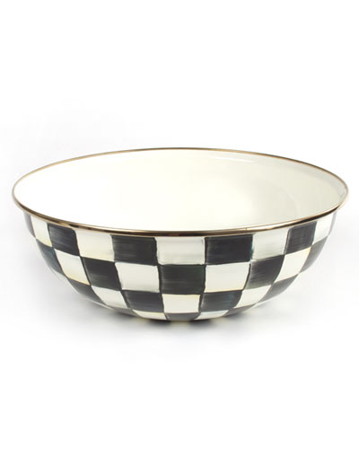 Extra-Large Courtly Check Everyday Bowl