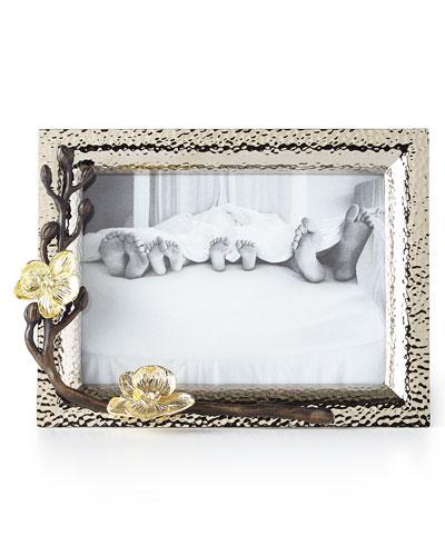 gold orchid 5 quick look michael aram - Michael Aram Picture Frames