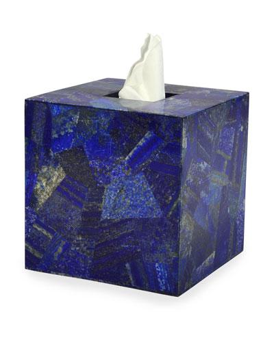 Taj Lapis Tissue Box Cover