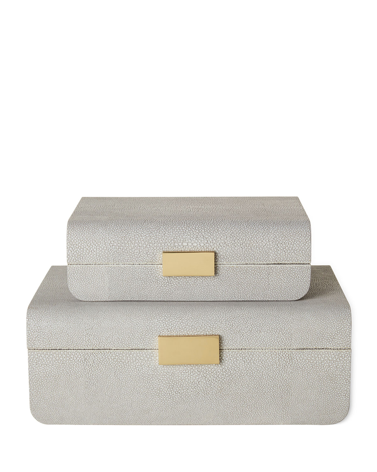 Aerin SMALL MOD SHAGREEN JEWELRY BOX