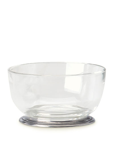 Round Crystal Bowl