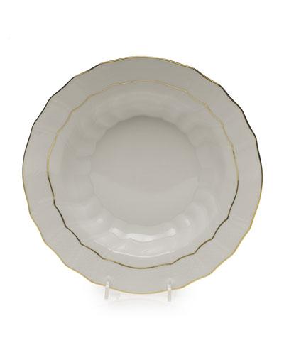 Golden Edge Soup Bowl, Large