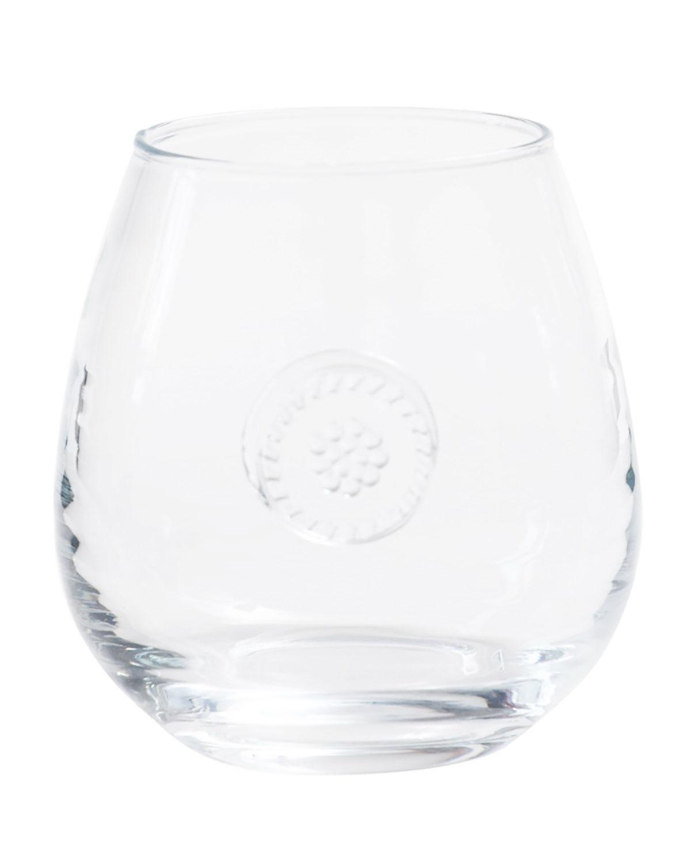 Juliska Clothing BERRY & THREAD STEMLESS RED WINE GLASS