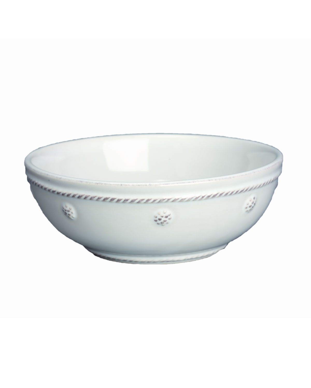 "Juliska Dinnerwares BERRY & THREAD WHITEWASH 6"" COUPE BOWL"