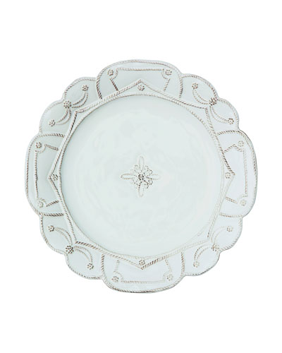 Juliska Jardins du Monde Whitewash Dinner Plate