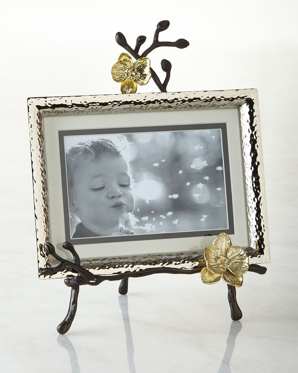 Michael Aram Picture frames GOLD ORCHID EASEL PICTURE FRAME