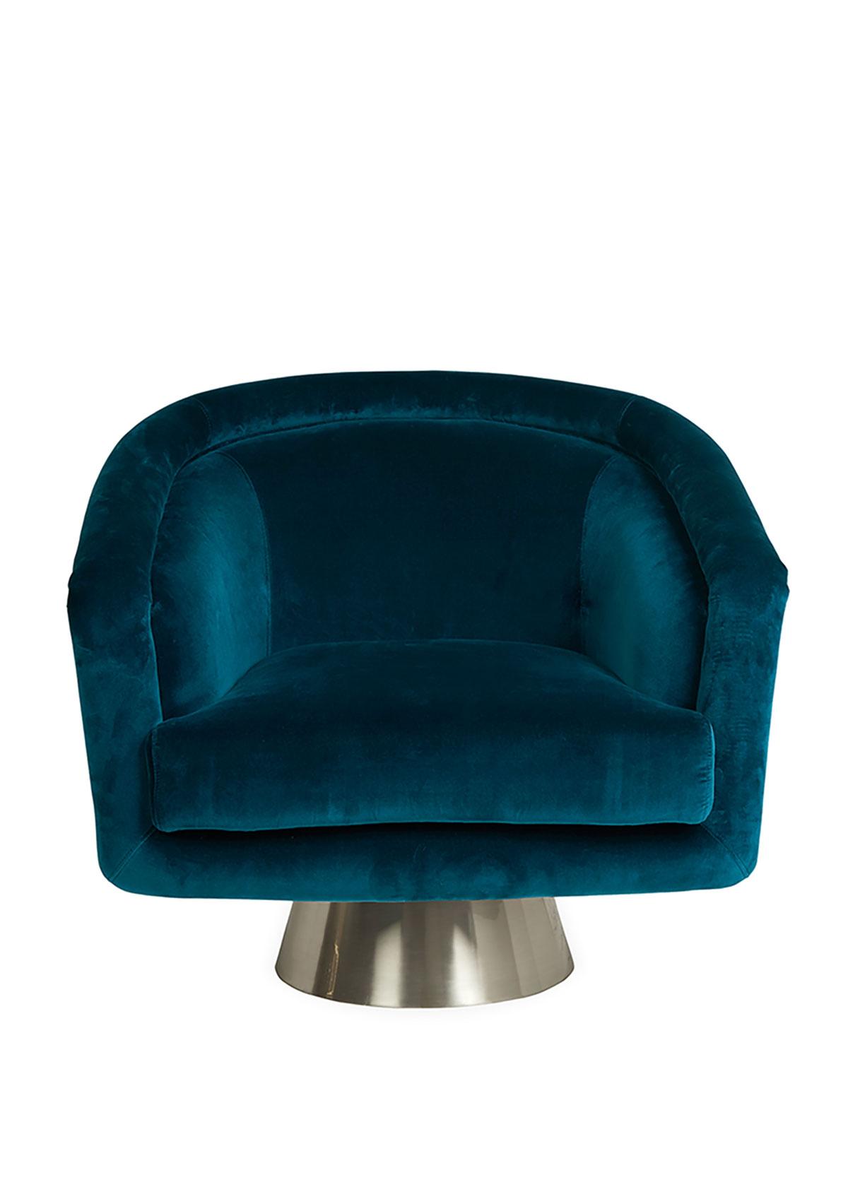 Jonathan Adler Furnitures BACHARACH SWIVEL CHAIR