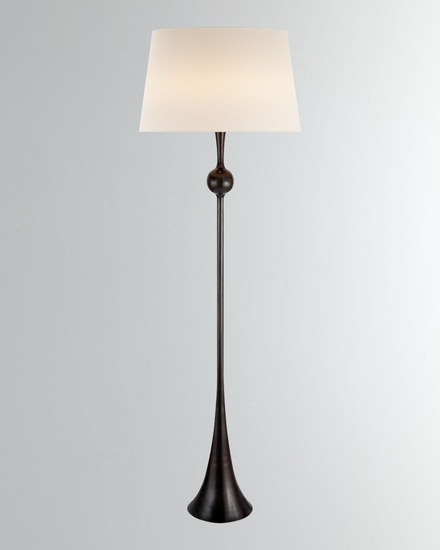 Aerin Lighting & lamps DOVER SILVER FLOOR LAMP