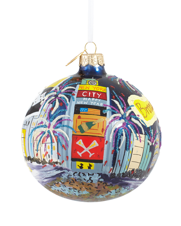 Time Square Ball Christmas Ornament