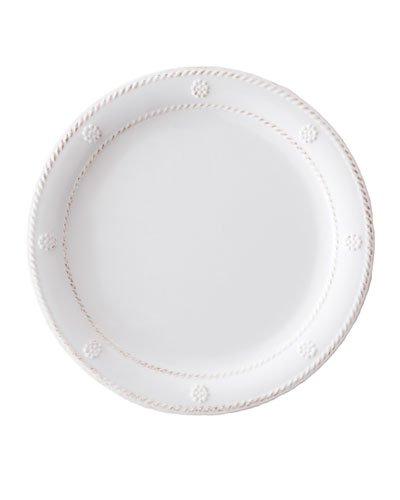 Juliska Berry & Thread Melamine Whitewash Dessert/Salad Plate