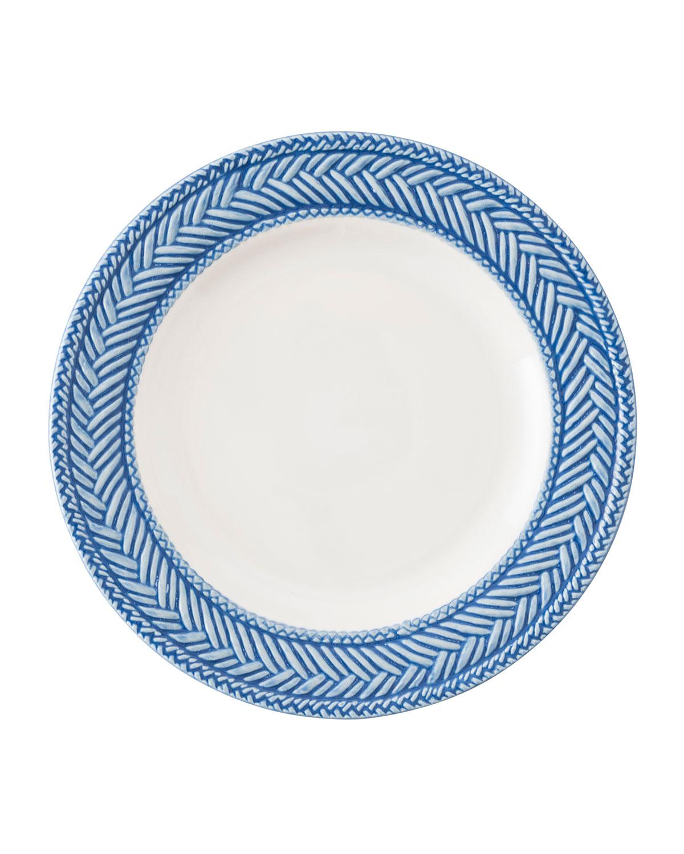 Juliska Dinnerwares LE PANIER WHITE/DELFT BLUE SIDE PLATE