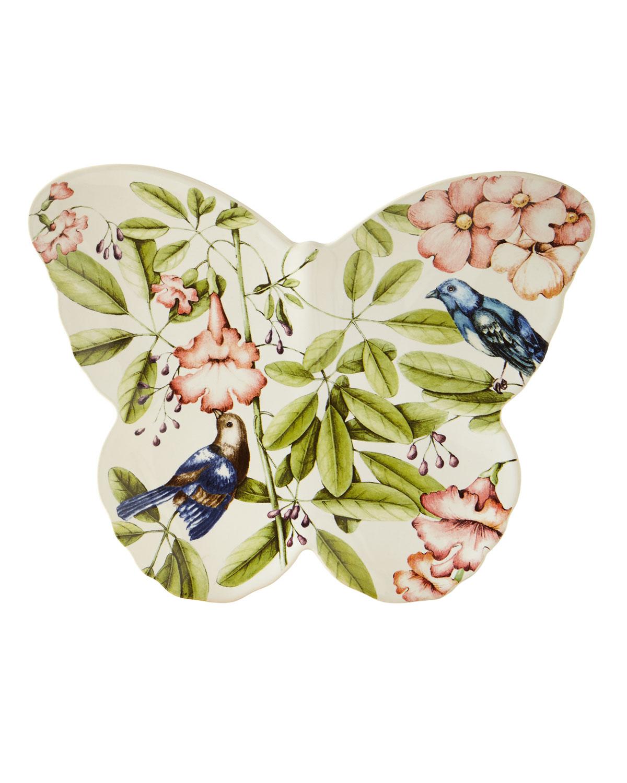Belle Botanica Butterfly Platter