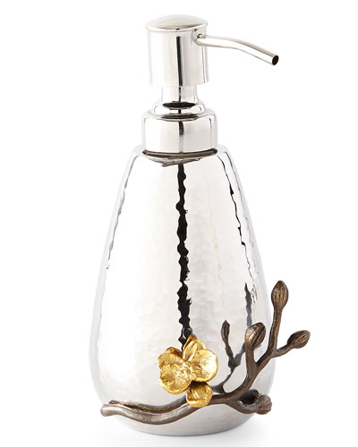 Michael Aram Gold Orchid Pump Dispenser