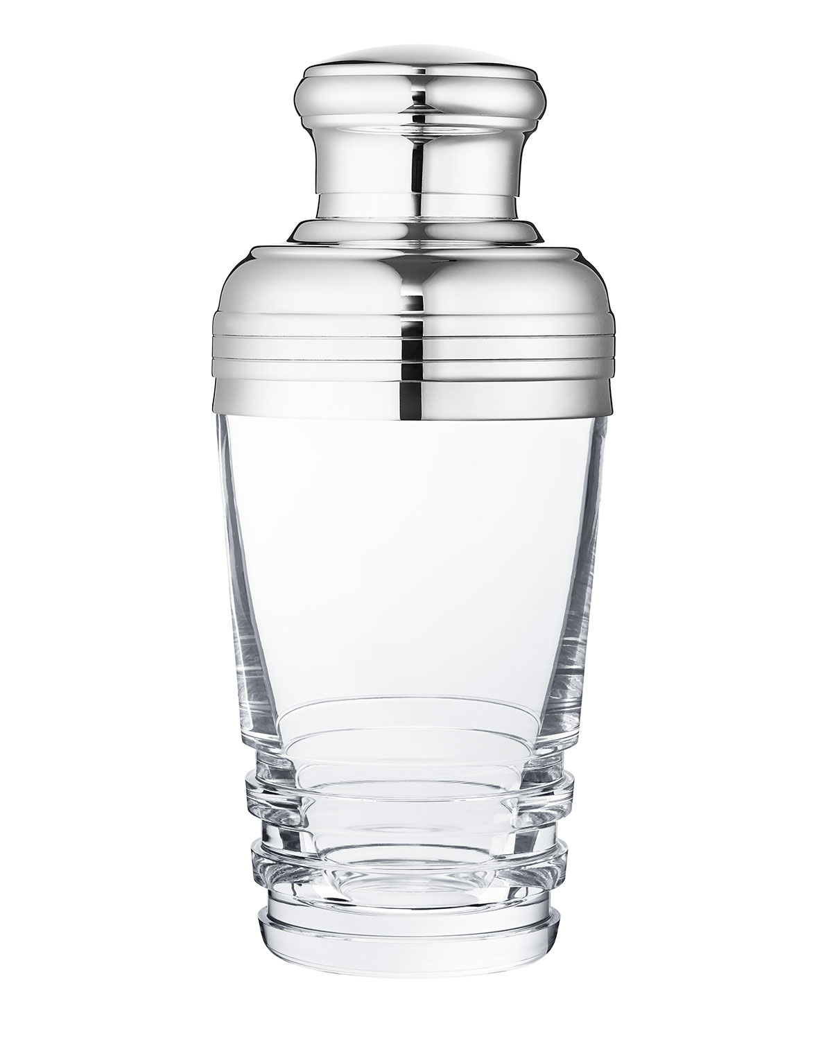 Saint Louis Crystal Barware & accessorys OXYMORE COCKTAIL SHAKER, CLEAR