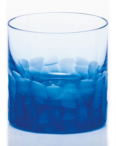 Moser Pebble Single Old-Fashioned, Aquamarine