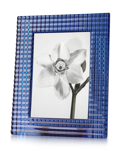 Baccarat Blue Eye Picture Frame, 5