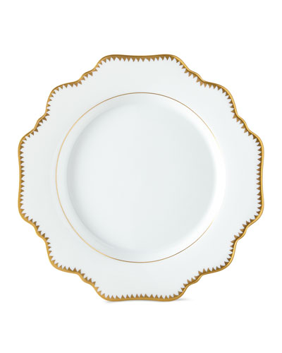 Simply Anna Antiqued Bread and Butter Plate