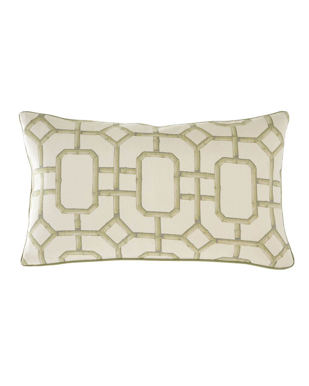 Jane Wilner Designs Pillows BAMBOO OBLONG PILLOW