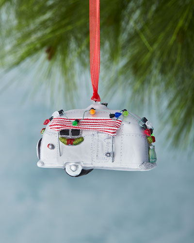 Holiday Trailer Christmas Ornament
