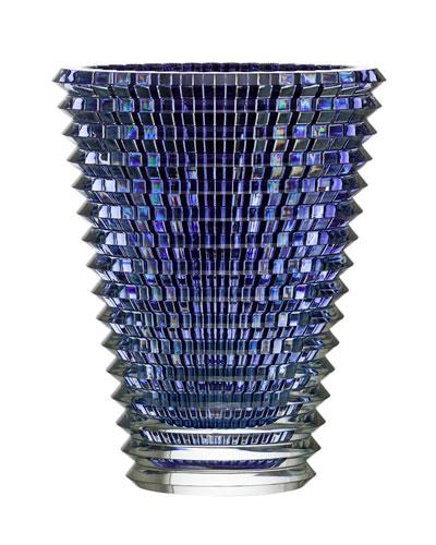 Baccarat Extra-Large Eye Vase, Blue