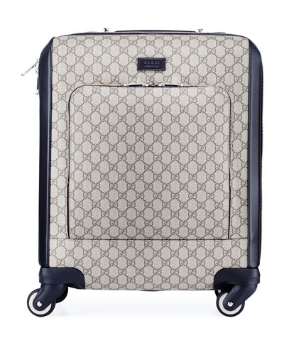 GG Supreme Carry-On Trolley Suitcase