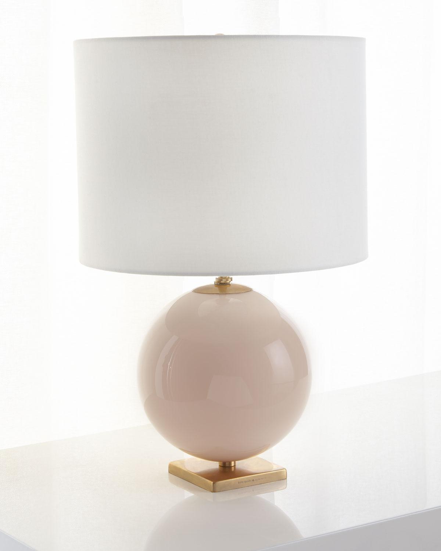 Kate Spade Lighting & lamps ELSIE REVERSE PAINTED GLOBE TABLE LAMP
