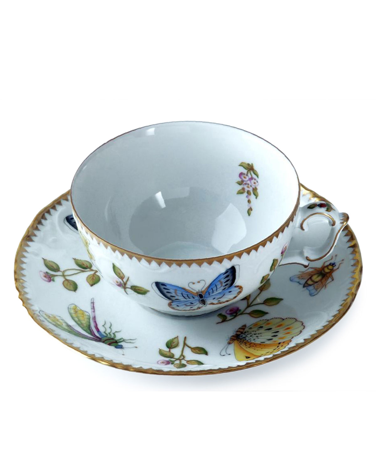 Anna Weatherley Drinkwares SPRING IN BUDAPEST TEACUP AND SAUCER