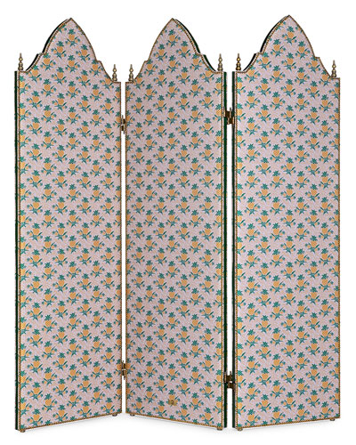Threefold Pineapple Jacquard Screen