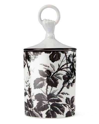 Herbarium Candle, Black