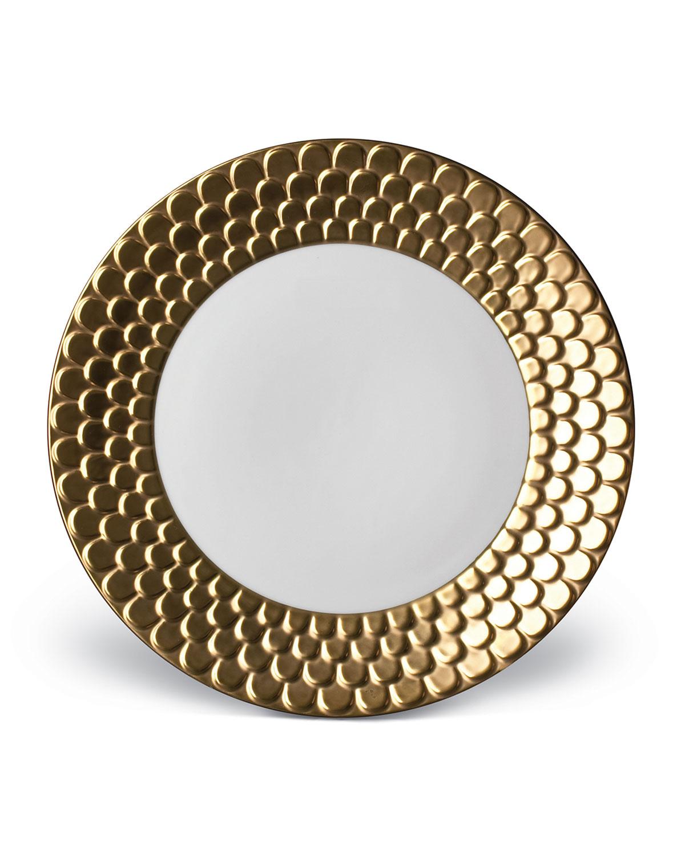 L'objet Dinnerwares AEGEAN GOLD DINNER PLATE