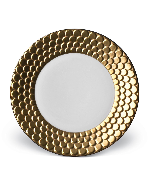 L'objet Dinnerwares AEGEAN GOLD DESSERT PLATE