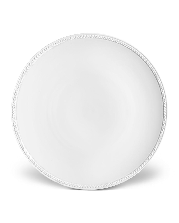 L'objet Dinnerwares SOIE TRESSEE DINNER PLATE