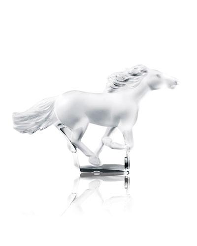 90e49c7d7a Kazak Horse Sculpture - Clear