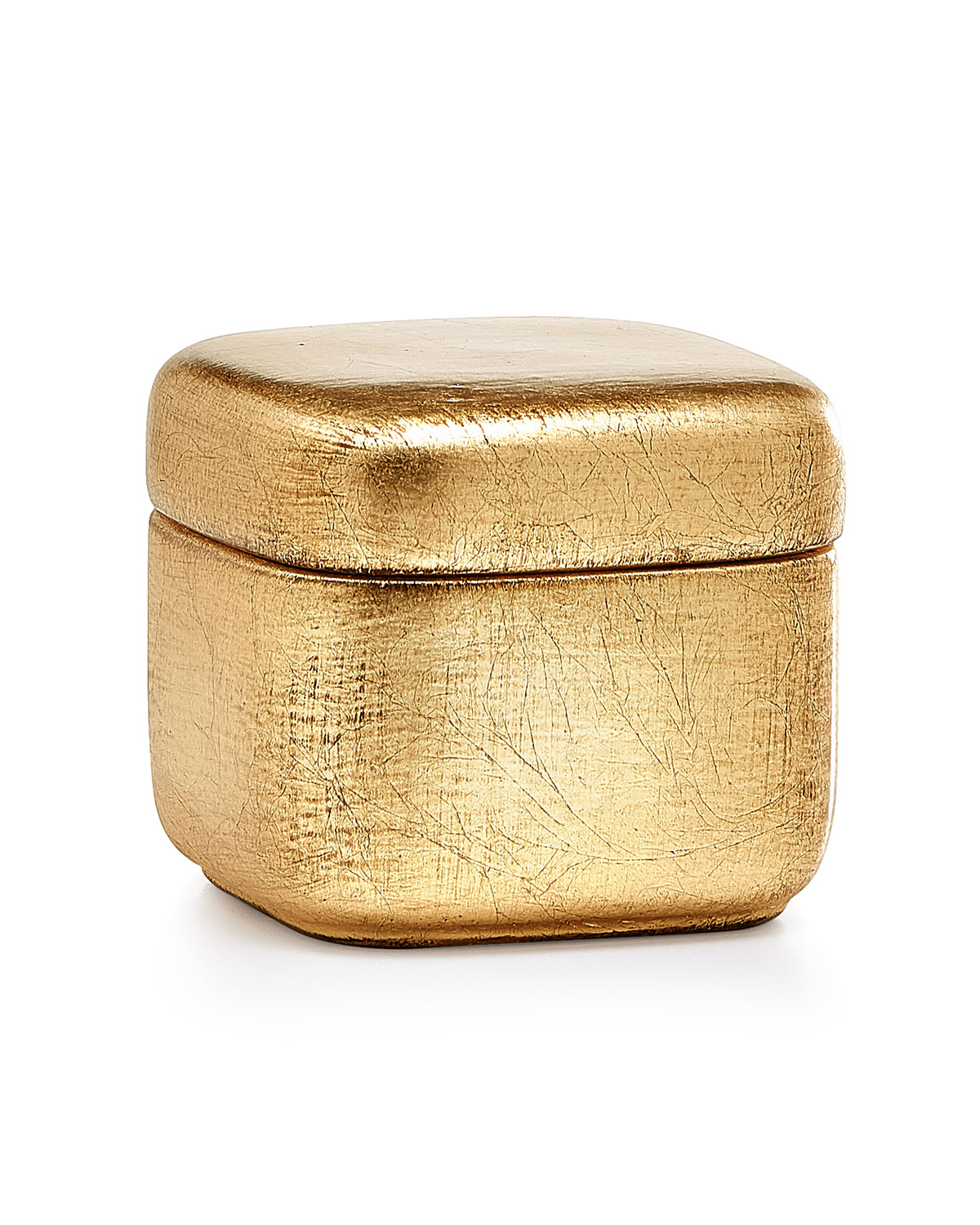 Labrazel Home decors AVA CANISTER, GOLD
