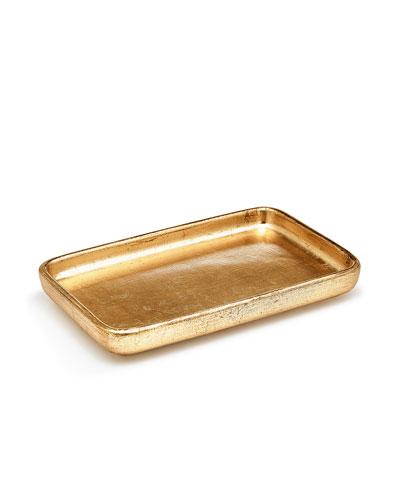Labrazel Ava Amenity Tray, Gold