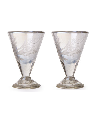 Lustre d'Pasion Cordial Glasses Pair, Clear