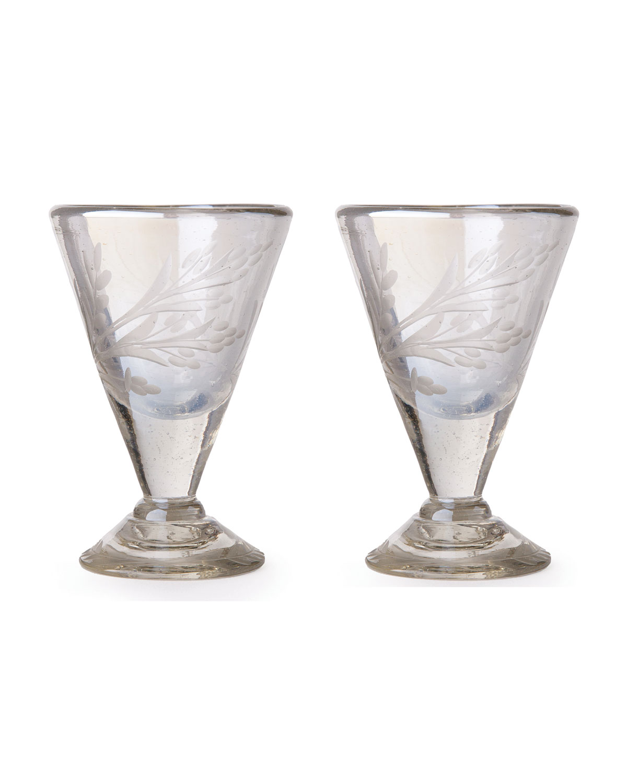 Jan Barboglio Clothing LUSTRE D'PASION CORDIAL GLASSES PAIR, CLEAR