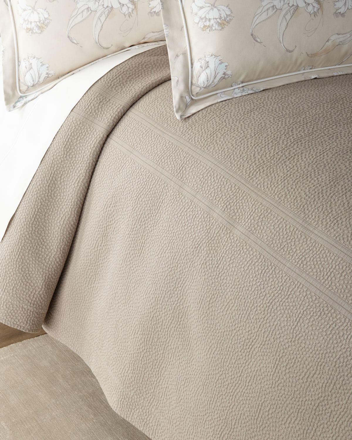 Peacock Alley FLORENCE KING COVERLET